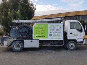Canterbury Foam Concrete Truck